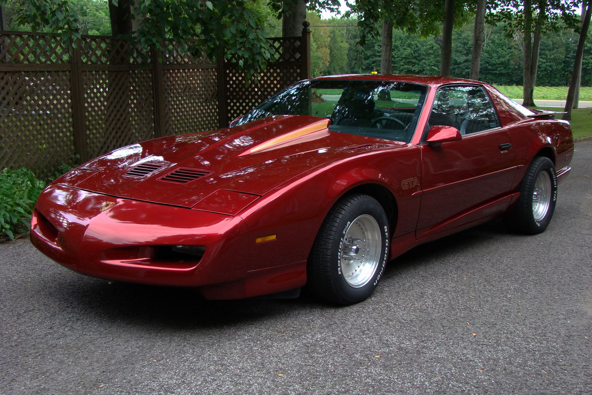 Trans Am GTA 1991 - Voiture de collection